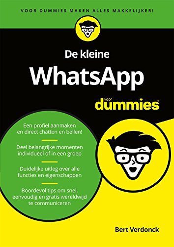 De kleine WhatsApp voor Dummies (Dutch Edition) eBook: Bert Verdonck: Amazon.es: Tienda Kindle