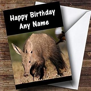 Aardvark Personalised Birthday Card
