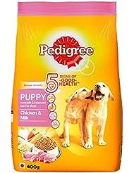 Pedigree Puppy Dog Food Chicken and Milk, 3 kg
