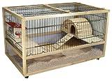 Kaninchen- und Meerschweinchenheim SAN MARINO 120 DELUXE