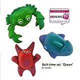 Naturkautschuk Badewannespielzeug Beissring 'Ocean'