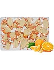 Boîte de 24 perles d'huile de bain fantaisies - Éléphant parfum mandarine