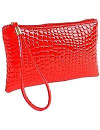 5f475151a Amazon.es: monedero mujer piel - Rojo / Carteras de mano y clutches ...