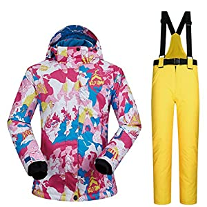 BAACHANG Frauen Jacke Winter Mädchen Mantel Outdoor Sport Kleid Ski Jacke Below Zero Coat