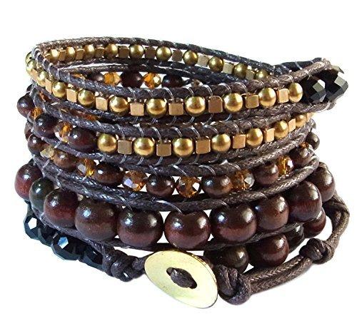 lun-na-asiatique-fait-main-bracelet-bohme-mode-earth-tone-marron-il-de-tigre-laiton-cristal-perle-en