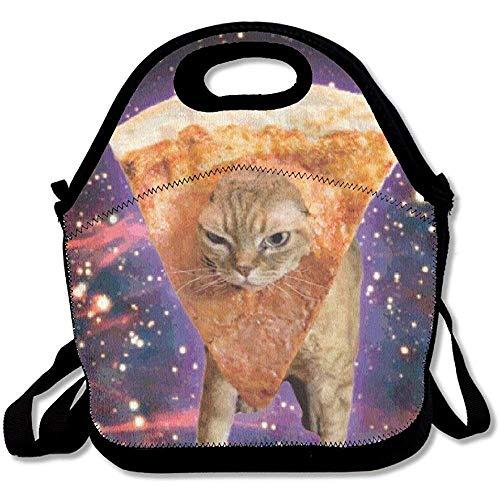 Galaxy Lustige Lunch-Taschen, große und dicke Neopren, isoliert, für Mittagessen, Kühler, warm, mit Schultergurt, für Damen, Teenager, Mädchen, Kinder, Erwachsene -