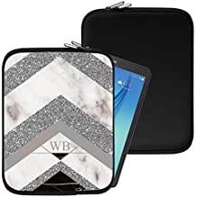 """Personalised Marble Neoprene Tablet Sleeve Bag Case -(87)- Acer Aspire Switch 10 E (SW3-013) (10.1"""")"""