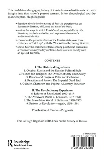 The Russian Tragedy: The Burden of History : The Burden of History