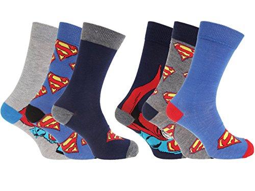 en Socken Gr. One size, multi (Superman Socken)