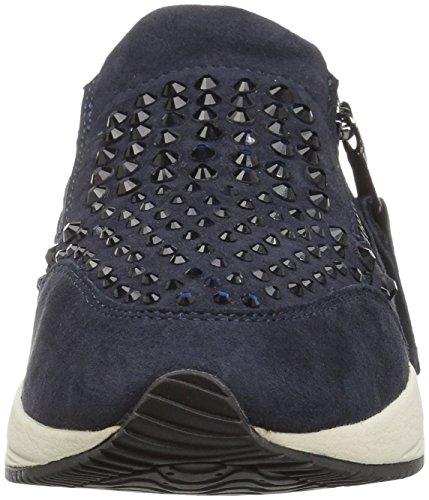 Geox D Omaya C, Baskets Basses Femme Blau (DK NAVYC4021)
