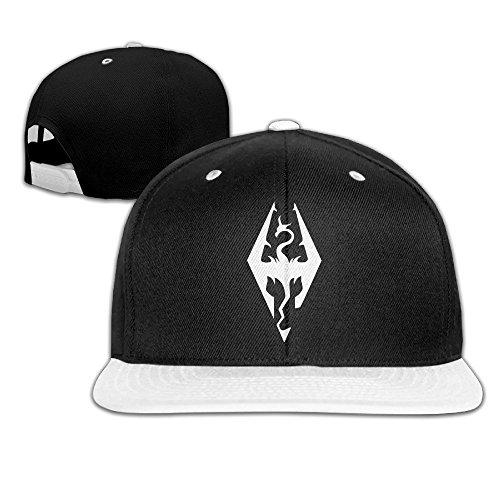1268179c95a Hittings Comfortable Skyrim Imperial Symbol Bethesda Game Studios Snapback  Hat White