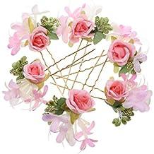 Flores para el pelo for Plantas decorativas amazon