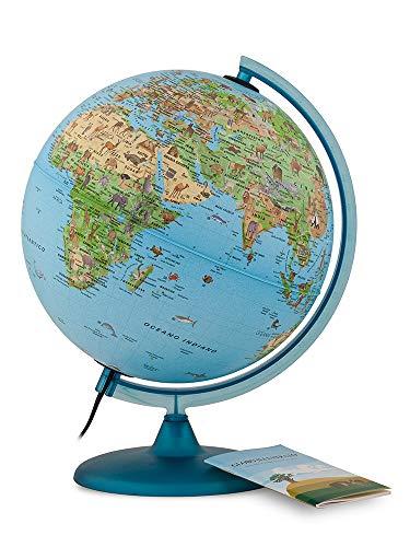 Tecnodidattica- Mappamondo Safari 25 con Libretto, 0325SASAITKBBGD6