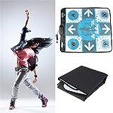 sdfghzsedfgsdfg Anti Slip Dance Revolution Pad Matte Tanzschritt für Nintendo für Wii für PC TV Hottest Party Spiel Zubehör Weiß