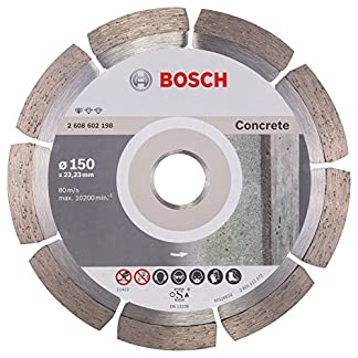 Bosch 2608602198 Professional  – Disco de corte de diamante for CONCRETE 150 mm