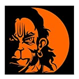 #5: DreamKraft Angry Hanuman Sticker (Medium)