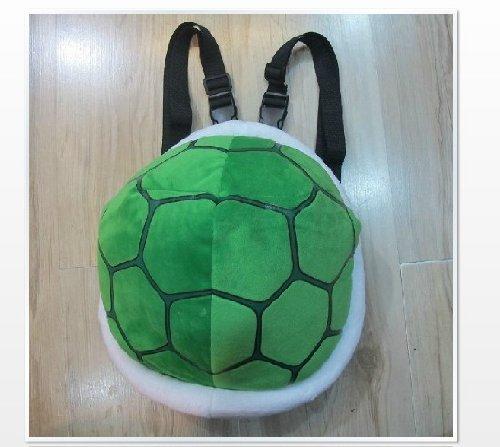 Super Mario Turtle Schildkröte Plüsch Cartoon Cosplay Rucksack-Schultaschen Umhängetasche ()