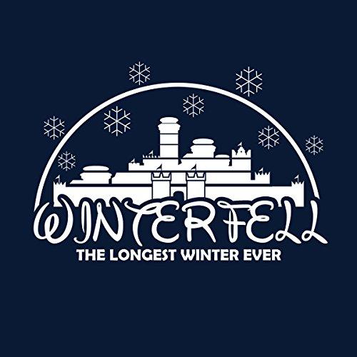 The Longest Winter Winterfell Disney Game Of Thrones Men's Vest Navy Blue