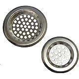 AERZETIX - 2 filtres 75mm 61mm panier passoire grille à pour évier lavabo
