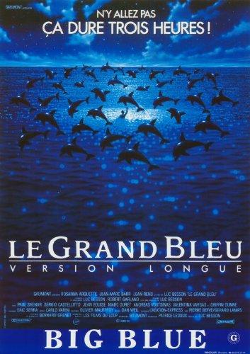 The Big Blue Affiche du film Poster Movie Le bleu grand (11 x 17 In - 28cm x 44cm) Belgian Style A