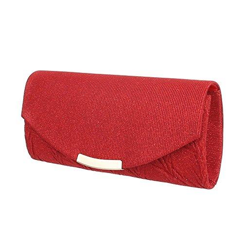 Taschen Clutch Schultertasche Rot