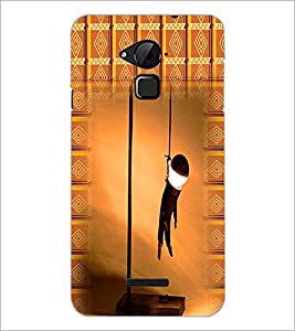 PrintDhaba Hanging Body D-2957 Back Case Cover for COOLPAD NOTE 3 LITE (Multi-Coloured)
