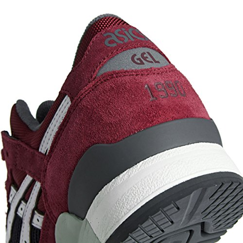 Asics Gel-lyte Iii, Sneakers Basses Mixte adulte Rouge