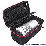 Tragbare Travel Hard Case Box und Weiche Silikon Skin Cover Bundle für Bose Soundlink Revolve Bluetooth-Lautsprecher (Nicht für Revolve +)