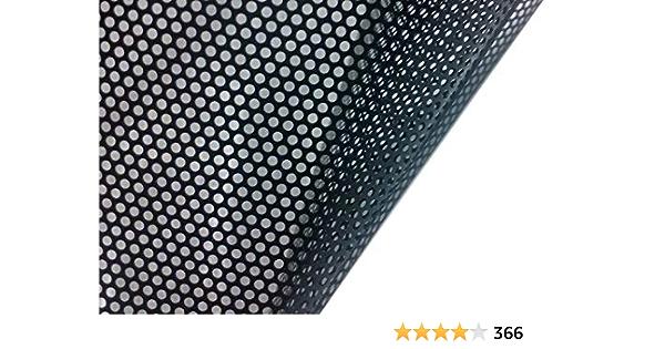 Vvivid Einweg Perforiert Schwarz Vinyl Sichtschutz Fensterfolie Sichtschutzfolie Selbstklebend Glas Wrap Rolle Schwarz Baumarkt