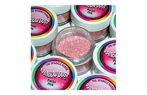 Pastel Pink Cake Decorating Glitter