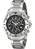 Invicta Specialty Men's Quartz Watch with Chronograph Display and Stainless Steel Bracelet