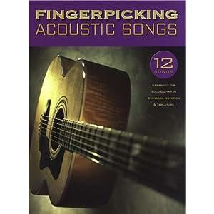 Fingerpicking Acoustic Songs. Partitions pour Guitare