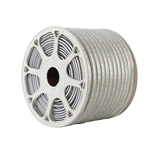 Led Lampe mit 2835 Hochdrucklampe mit 220V im Freien wasserdichte 5730 Lampe mit 5050RGB bunten Laufschriftgürtel IP65 wasserdicht für Indoor Decor Outside Decking -