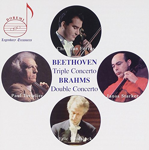 Ferras Plays Beethoven/Brahms