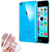 Donkeyphone 599371031 - funda gel transparente para iphone 5c silicona ultra thin - ultra fina 0,33 mm