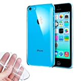 Donkeyphone 599371031 - funda gel transparente para iphone 5c silicona ultra thin - ultra fina 0,33...