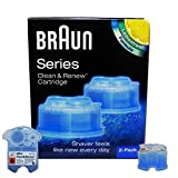 Braun Clean & Renew CCR 2 - 2er Pack 2 x 170ml