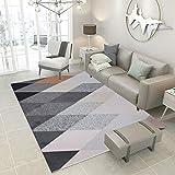 L&ZX Weicher Touch Shaggy Luxuriöse Dichte Stapel Teppiche Für Wohnzimmer, Esszimmer Oder Gästezimmer,160Cmx230cm