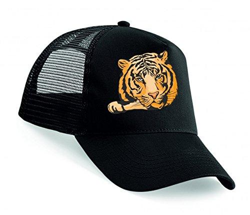 Snapback 'Tiger Löwe liegt auf Pfote Raubtiere Wildnis Savanne Afrika Dschungel' Unisex Baseballmütze Trucker Mützen Base Caps