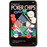 Crazy Sutra Poker Chips Casino Game (Set Of 100) | Poker Chips Game Set