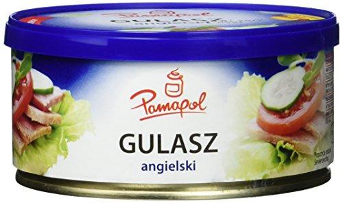 Pamapol Gulasz angielski Frühstücksfleisch, 6er Pack (6 x 300 g)