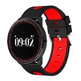 GMM Smart Armband Uhr Dynamischer Blutdruck Herzfrequenz Wasserdicht Sport Schlank Armband Smart Armband,D