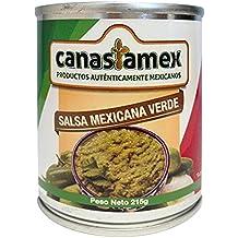 SALSA MEXICANA VERDE 215g - CANASTAMEX