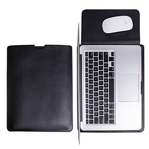WALNEW Schlanke MacBook Air 13 Zoll (A1369/A1466) Hülle, MacBook Schutzhülle, Hülle, Case, Cover, MacBook Pro Retina 13 Zoll Hülle mit Handgriff, geschütztes Inneres und externes Mousepad (Wort Air Mac Book)