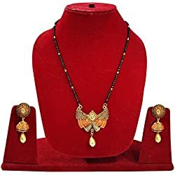 Latest Design Mangalsutra Set for Women / Mangalsutra With Pair Earrings
