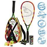 Speedminton S600 Set de 2 Raquettes Mixte Adulte, Multicolore Jaune/Rouge, 0