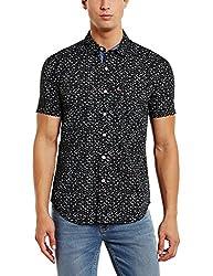 Levis Mens Casual Shirt (6902194260373_28544-0017_Large_Black)