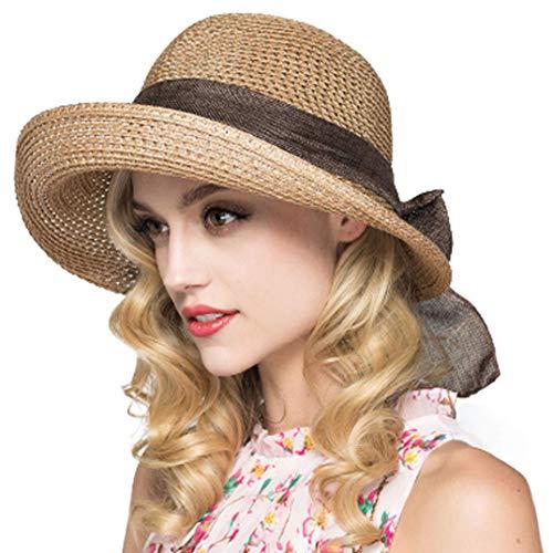 Kqpoinw Sun Hat, Ladies Straw Ha...