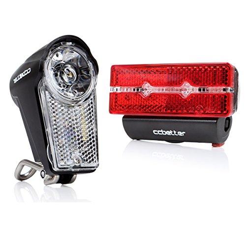 Fahrradlicht LED, ccbetter Wasserdicht Front und R...