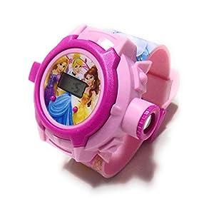 Vishwakarma Enterprises Princess Projector Watch For Girls - Multi Color